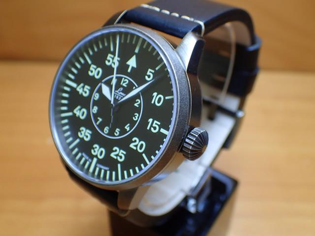 ラコ 腕時計 Laco パイロットウォッチ 861883 Zweibrucken ツヴァイブリュッケン 42MM 自動巻優美堂のLaco ラコ腕時計はメーカー保証2年つきの正規販売店商品です。