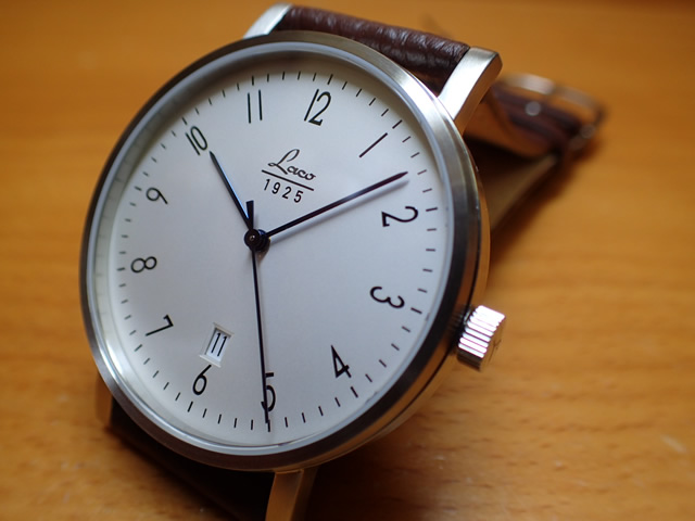 ラコ 腕時計 Laco クラシック ウォッチ 861862 40MM 自動巻優美堂のLaco ラコ腕時計はメーカー保証2年つきの正規販売店商品です。