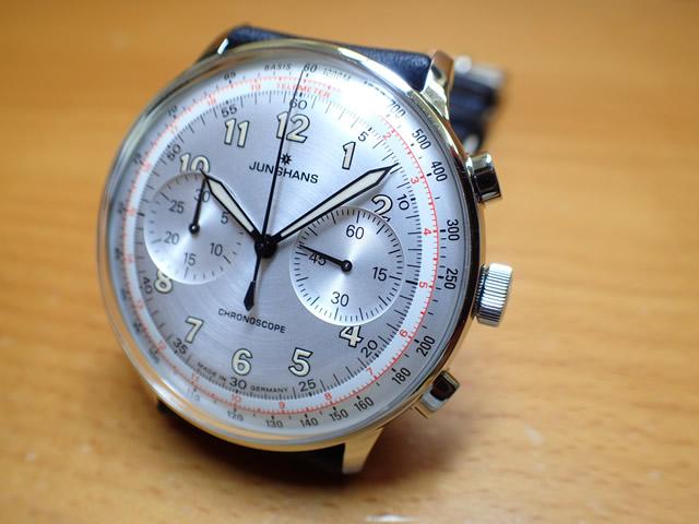 ユンハンス マックスビル バイユンハンス 腕時計 Junghans Meister Telemeter 40.4mm マイスターテレメーター オートマチック 027 3380 00 正規商品