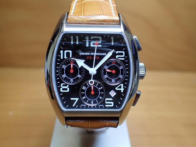 ジラールペルゴ 腕時計 フェラーリ 275 GTB 限定モデル GIRALD-PERREGAUX 自動巻き 機械式腕時計 27650 0 11 6056
