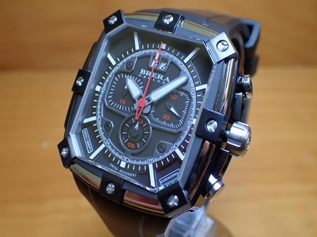 ブレラ オロロジ BRERA OROLOGI 腕時計 スーパースポルティーボ スクエア BRSS2C4601 メンズ 正規輸入品:e-優美堂店