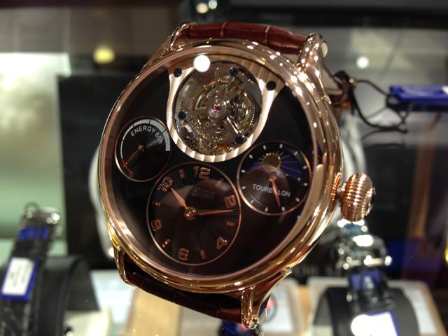 MEMORIGIN メモリジン 腕時計 トゥールビヨン Legend レジェンド シリーズ マニュファクチュール トゥールビヨン MO0523RGBKBRR 優美堂は分割払いもできます!