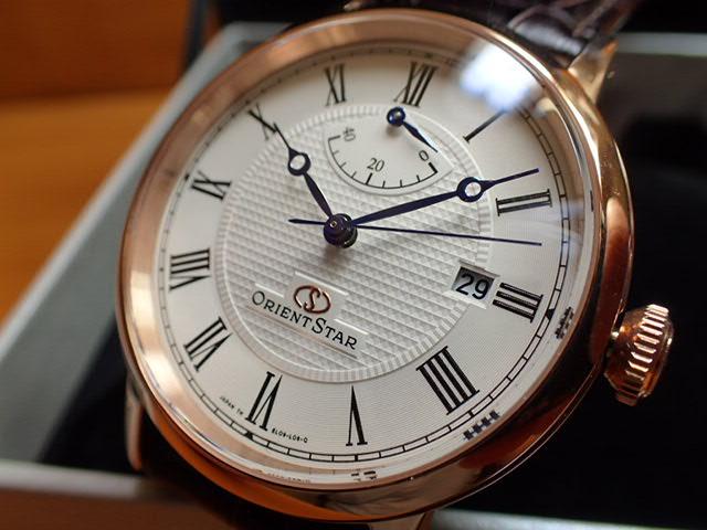 オリエントスター ORIENT 腕時計 ORIENTSTAR オリエントスター エレガントクラシック 機械式 自動巻き (手巻き付き) ウォームホワイト WZ0311EL メンズ