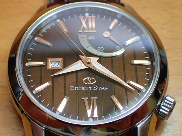 オリエントスター ORIENT 腕時計 ORIENTSTAR オリエントスター 自動巻き パワーリザーブ WZ0301EL メンズ