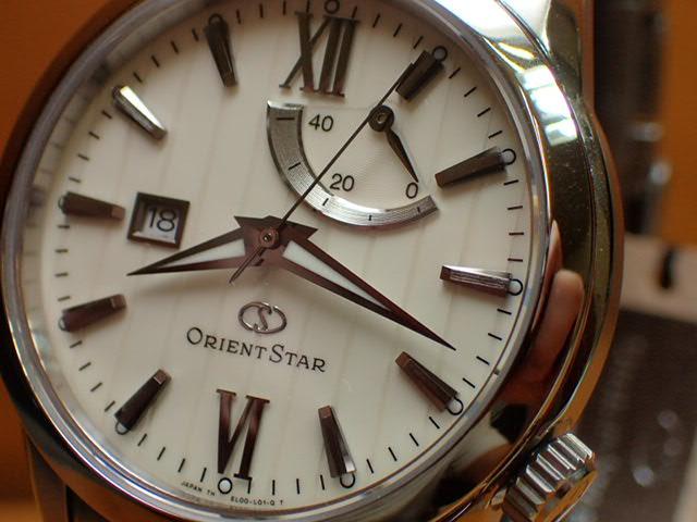 オリエント ORIENT 腕時計 ORIENTSTAR オリエントスター 自動巻き パワーリザーブ WZ0291EL メンズ