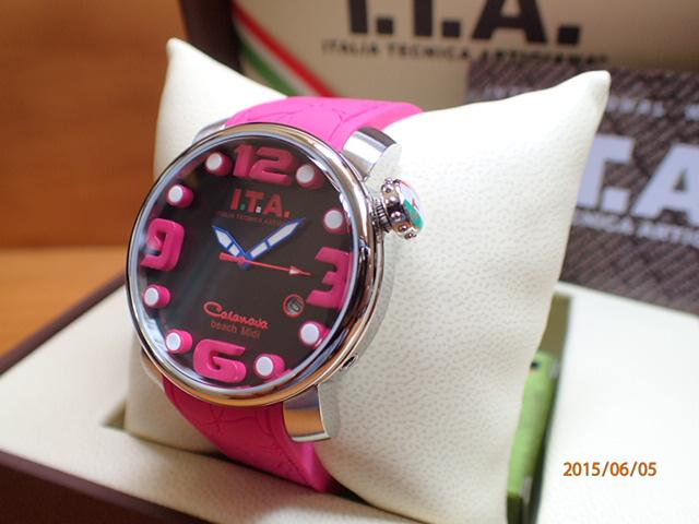 ITA 腕時計 アイティーエー カサノバ・ビーチ ミディ 正規商品 Ref.19.03.04優美堂のI.T.A 腕時計はメーカー保証2年の正規商品です人気シリーズ「カサノバ・ビーチ」のミニサイズ