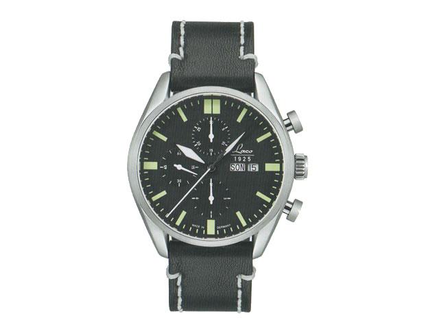 ラコ 腕時計 Laco クロノグラフウォッチシリーズ Las Vegas ラスベガス 自動巻き 861587  優美堂だけの取扱い限定品優美堂のLaco ラコ腕時計はメーカー保証2年つきの正規販売店商品です。