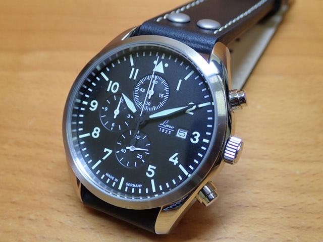 ラコ 腕時計 Laco 861915 トーリア クロノグラフ クォーツ(電池式) 40mm優美堂のLaco ラコ腕時計はメーカー保証2年つきの正規販売店商品です。