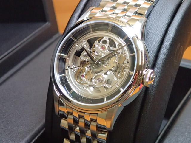オリス 時計 アートリエ トランスルーセント スケルトン 腕時計 Oris Artelier 73476844051M 送料無料 正規輸入品