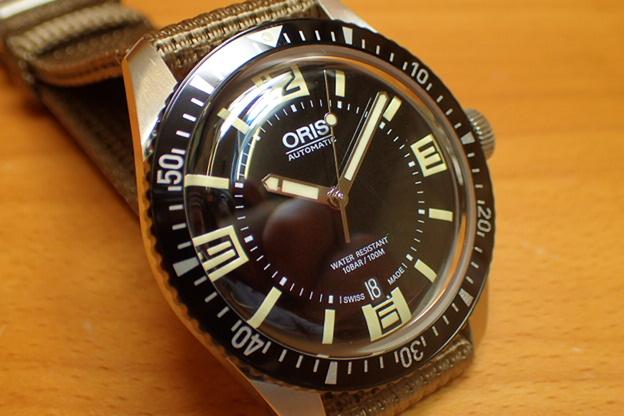 Oris オリス ダイバース 65 HERITAGE ヘリテイジ 腕時計 73377074064F 【送料無料】【正規輸入品】ナイロンストラップ
