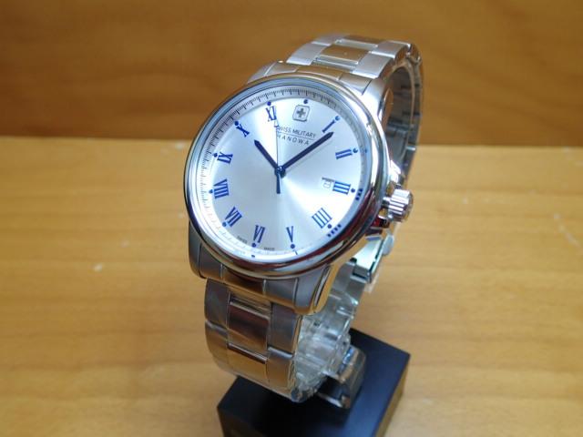 スイスミリタリー 腕時計 ROMAN ローマン ML377 メンズ 【安心の正規輸入品】