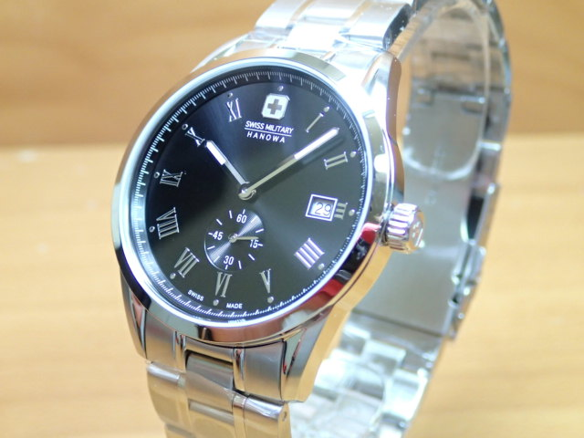 スイスミリタリー 腕時計 ROMAN ローマン ML344 メンズ 【安心の正規輸入品】