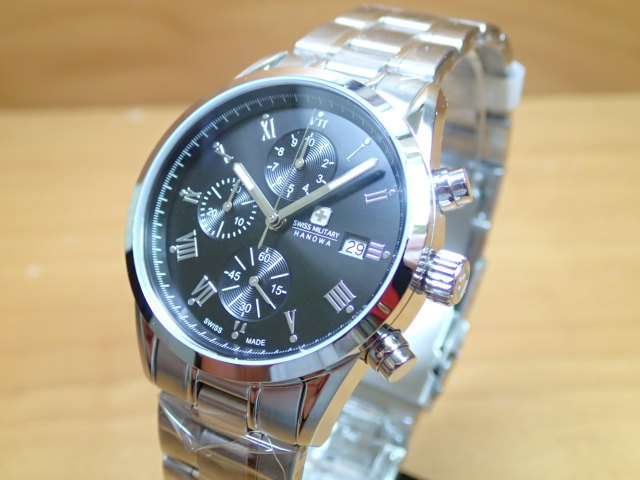 スイスミリタリー 腕時計 ROMAN ローマン ML346 メンズ 【安心の正規輸入品】