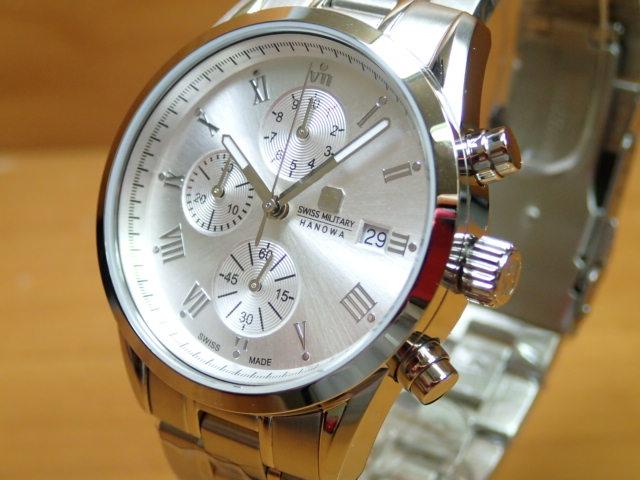 スイスミリタリー 腕時計 ROMAN ローマン ML347 メンズ 【安心の正規輸入品】
