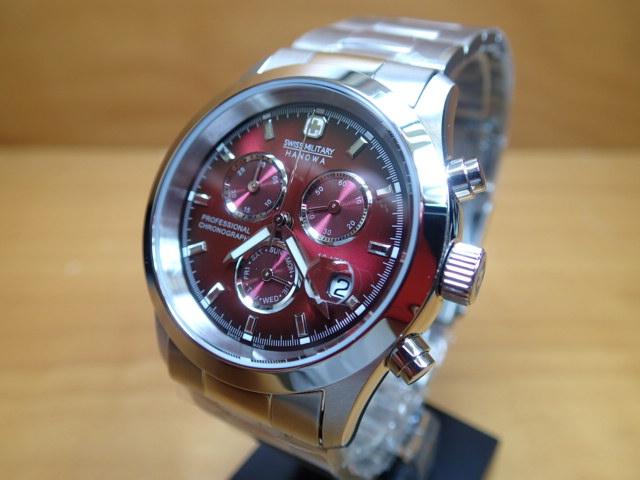 スイスミリタリー 腕時計 エレガント・クロノ ML185 メンズ 【安心の正規輸入品】