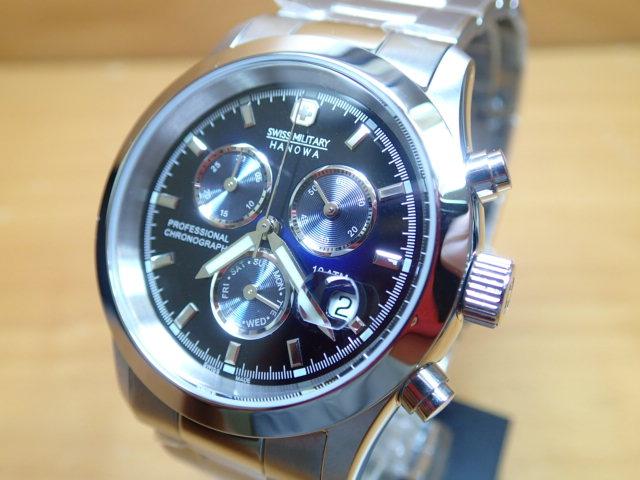 スイスミリタリー 腕時計 エレガント・クロノ ML245 メンズ 【安心の正規輸入品】