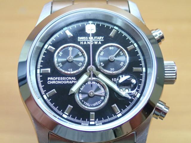 スイスミリタリー 腕時計 エレガント・クロノ ML244 メンズ 【安心の正規輸入品】