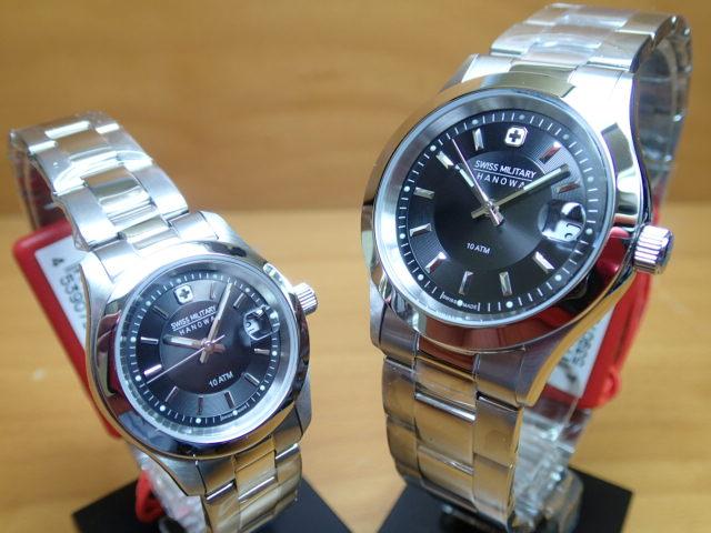 スイスミリタリー 腕時計 PREMIUM エレガント・プレミアム ML300-ML308 ペアウオッチ 【安心の正規輸入品】