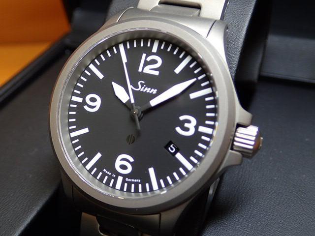 ジン 腕時計 SINN sinn ジン時計 856.BM 分割払いもOKです優美堂のジン腕時計はメーカー保証2年つきの正規輸入商品です