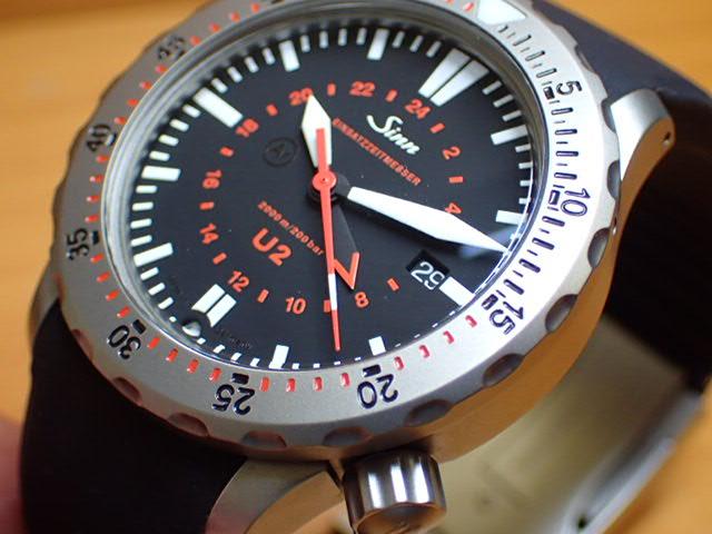 ジン 腕時計 Sinn U2 分割払いもOKです