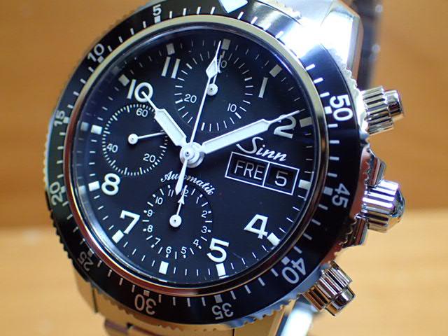 ジン 腕時計 Sinn 103 B.SA.AUTOM 分割払いもOKです 103は、優れた視認性、刻時・計時精度を誇るシンプルなダイヤルを備えた実用的なクロノグラフです。