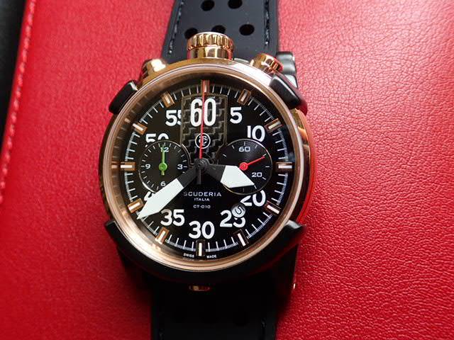 CT スクーデリア CT SCUDERIA 腕時計 CS40106 ボーイズサイズ 40mm 【正規輸入品】CTスクーデリアはメーカー保証2年付の正規代理店商品になります