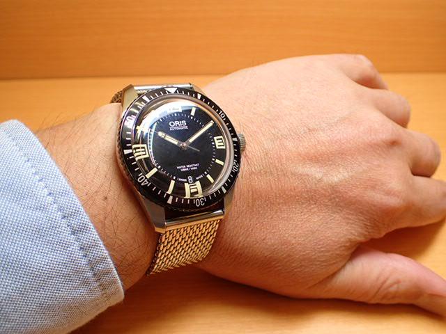 yuubido oris oris scuba divers 65 heritage heritage watch