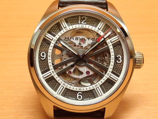 ハミルトン 時計 腕時計 HAMILTON カーキーフィールド スケルトン オート H72515585 送料無料