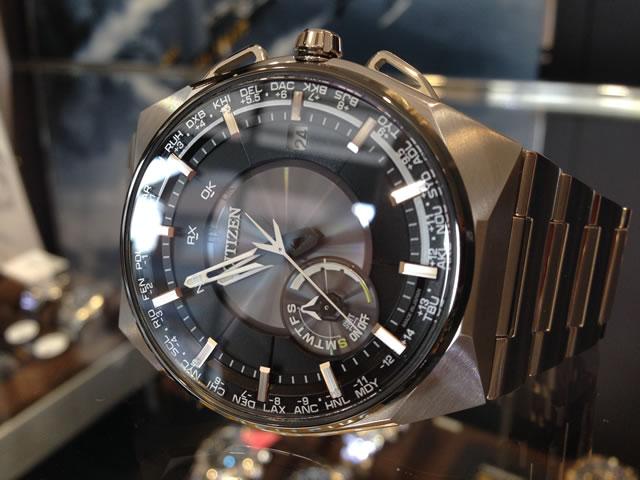 ラグビー日本代表公認モデル CITIZENシチズン プロマスター CITIZEN PROMASTER エコドライブ サテライトウエーブ エア 衛星電波時計 腕時計 メンズ CC2006-53E