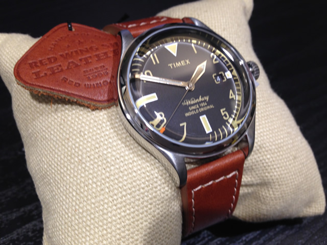 Timex TIMEX 沃特伯裡紅沃特伯裡紅翼皮鞋觀看男子 TW2P84600 紅翼