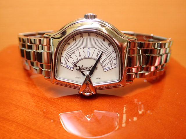 ジャンイブ セクトラ 2000 マザーオブパール文字盤 ダイヤつき特別ベゼル レディース クォーツ 腕時計 065453EAMPHD
