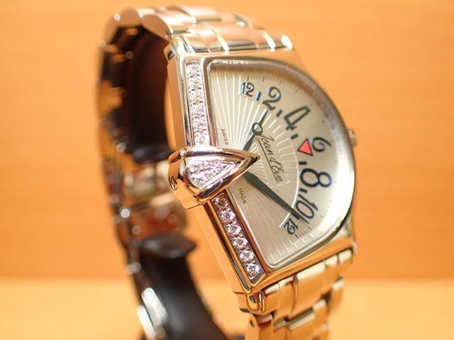 ジャンイブ セクトラ 2000 ダイヤつき特別ベゼル メンズ クオーツ 腕時計 065463SAAAHD