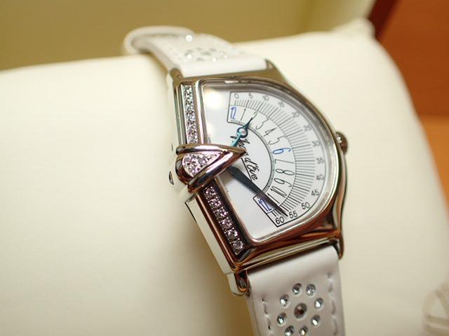 ジャンイブ セクトラ 2000 マザーオブパール文字盤 ダイヤつき特別ベゼル レディース クォーツ 腕時計 065451EAAARWHD