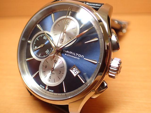 ハミルトン 腕時計 HAMILTON ジャズマスター オートクロノ レザーバンド H32596741 【送料無料】
