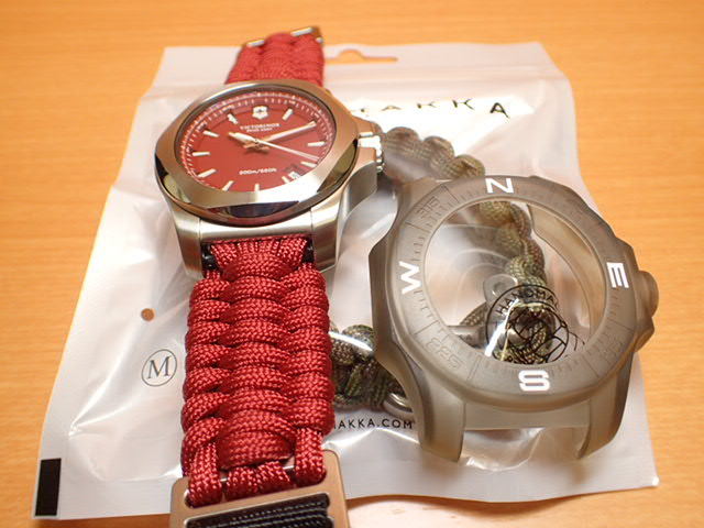 VICTORINOX ビクトリノックス 腕時計 I.N.O.X. イノックス Paracord NAIMAKKA パラコード ナイマッカ コラボレーションモデル 日本先行発売 241744 レッド