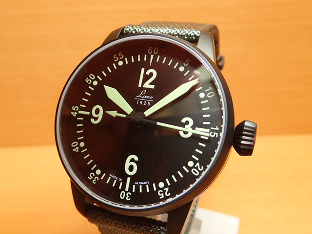 ラコ 腕時計 Laco 861907 BELL-X-1 ベルエックスワン オートマチック(自動巻き式) 42mm優美堂のLaco ラコ腕時計はメーカー保証2年つきの正規販売店商品です。