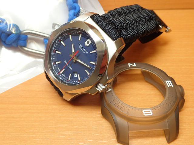 VICTORINOX ビクトリノックス 腕時計 I.N.O.X. イノックス Paracord NAIMAKKA パラコード ナイマッカ コラボレーションモデル INDIGO BLUE NAIMAKKA インディゴブルー 日本限定発売 249105