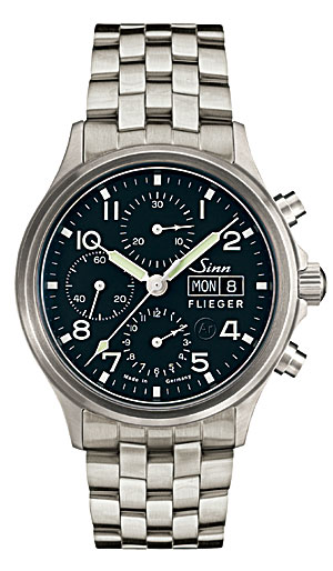 ジン 腕時計 SINN ジン時計 358.SA.FLIEGER フリーガー 分割払いもOKです優美堂のジン腕時計はメーカー保証2年つきの正規輸入商品です