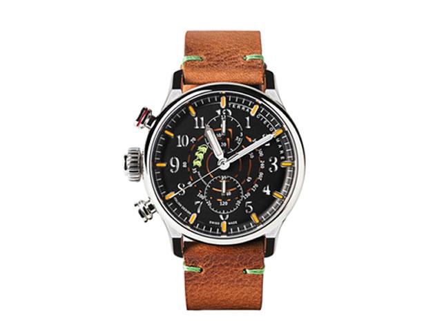 テッラ チエロ マーレ 腕時計 TERRA CIELO MARE CHRONO SORCI VERDI MANCINO クロノ・ソルチベルディ・マンチーノ 自動巻き Ref.TC7016AC3PA