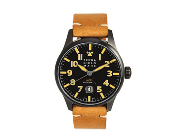 TERRA CIELO MARE テッラ・チエロ・マーレ 腕時計 AVIATORE Mark2 PVD アヴィアトーレ マーク2 PVD 自動巻き Ref.TC7103PVD3PA 【送料無料】