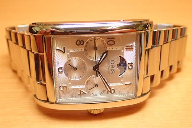 オリス 腕時計 Oris Rectangular レクタンギュラー コンプリケーション メンズサイズ 582 7694 4031M 分割払いでお求めくだい 【送料無料】