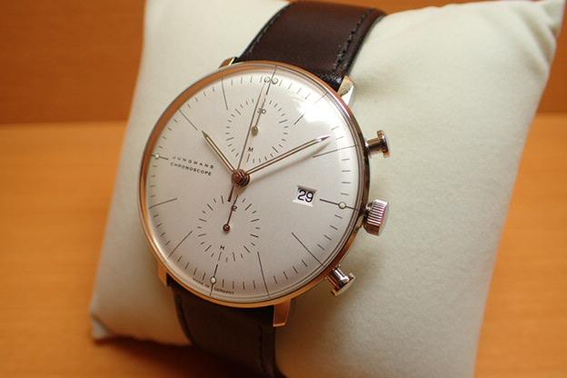 ユンハンス マックスビル バイユンハンス 腕時計 max bill by junghans chronoscope 40mm マックスビル クロノスコープ 027 4600 00 正規商品