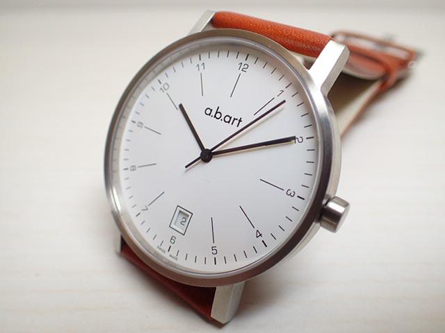 エービーアート 腕時計 a.b.art series O O-103 ブラウン メンズ 【正規輸入品】
