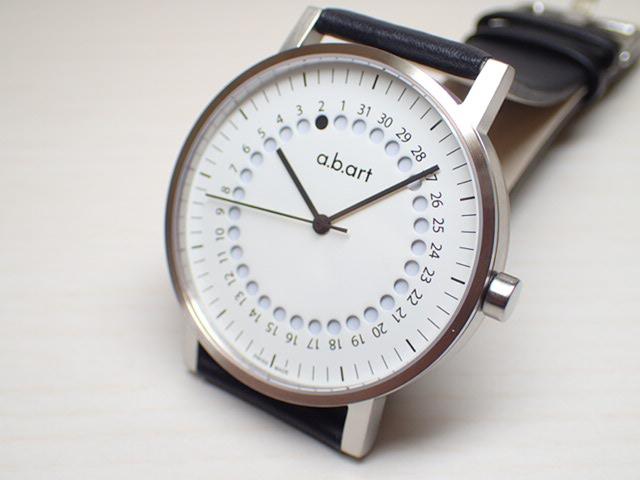 エービーアート 腕時計 a.b.art series O O-101W メンズ 【正規輸入品】優美堂のエービーアート腕時計はメーカー保証1年の正規商品です