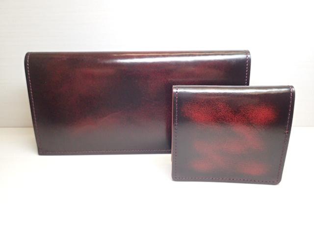 GREDEER アドバン 長財布(小銭入なし) GCKA001E-Z ワイン と小銭入 GCKA003E-Z のセット