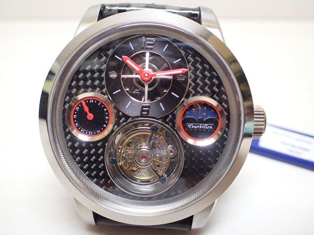 メモリジン 腕時計 トゥールビヨン MEMORIGIN GTシリーズ マニュファクチュール トゥールビヨン MO0720SSBKBKA 分割お支払できます。