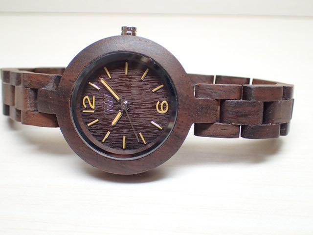 ウィーウッド WEWOOD 腕時計 ウッド/木製 MIMOSA CHOCOLATE 9818075 レディース 33mm 【正規輸入品】