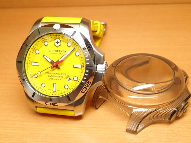 VICTORINOX ビクトリノックス 腕時計 イノックス プロフェッショナル ダイバー I.N.O.X. PROFESSIONAL DIVER イエロー 241735 [正規輸入品]