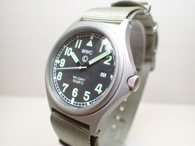 MWC ミリタリー ウォッチ カンパニー 38mm メンズ 腕時計 G10BH