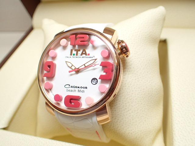 I.T.A アイティーエー 腕時計 カサノバ・ビーチ ミディ 正規商品 Ref.19.03.09優美堂のI.T.A 腕時計はメーカー保証2年の正規商品です人気シリーズ「カサノバ・ビーチ」のミニサイズ